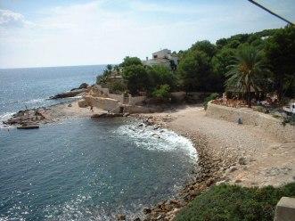 Strandje bij Moraira